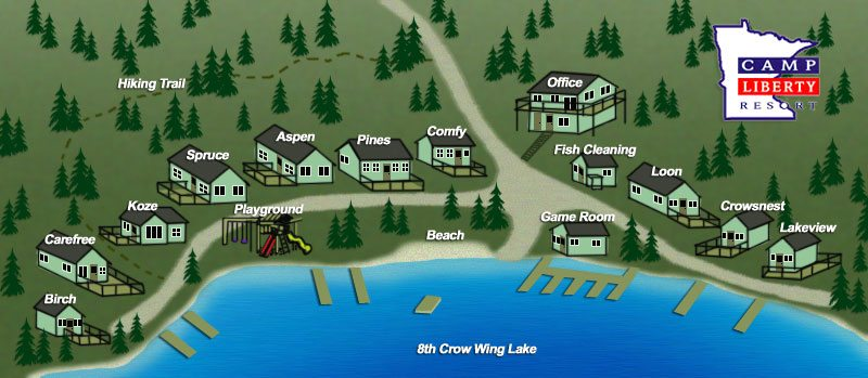 Minnesota cabins family summer cabin rentals for your for Minnesota fishing resorts